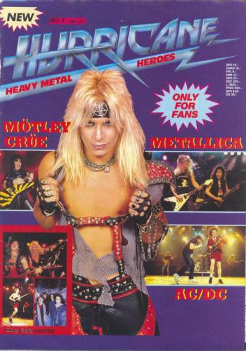 Circus magazine June 1984 Motley Crue Van Halen Michael Jackson David Lee Roth